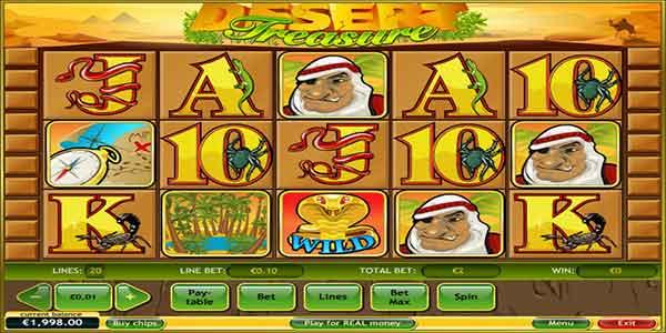 Desert Treasure Slots