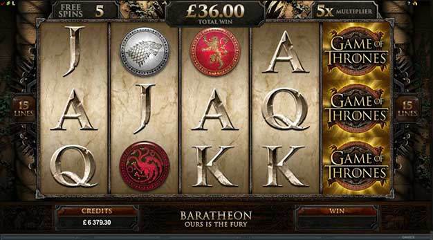 Slot Game of Thrones yang terkenal di HBO