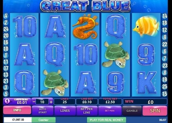 Mengambil Risiko dan Pengembaraan ke Laut Dengan Slot Online: Great Blue