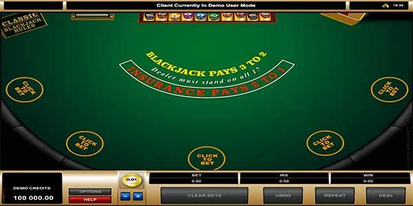 Cara bermain Blackjack dan peraturannya