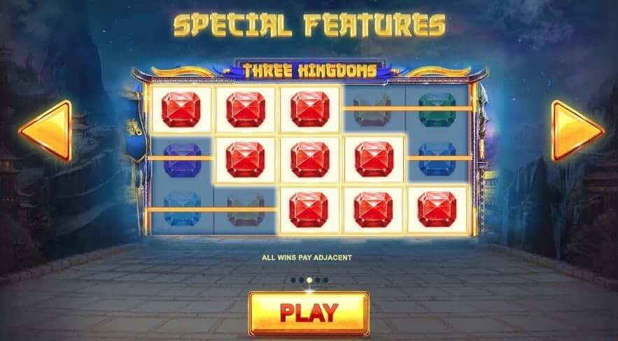 Slot Three Kingdoms yang istimewa