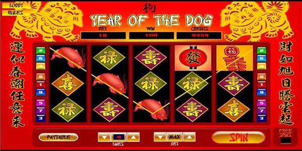 Main Slot Online Tahun Baru Cina : Year of the Dog