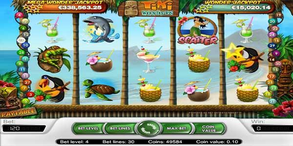 Tiki Wonders Slot Game