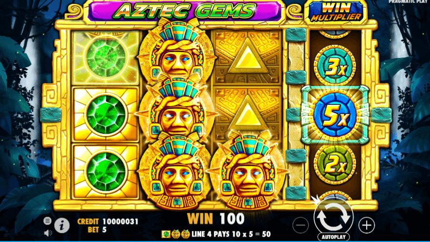 aztec gems slot reels
