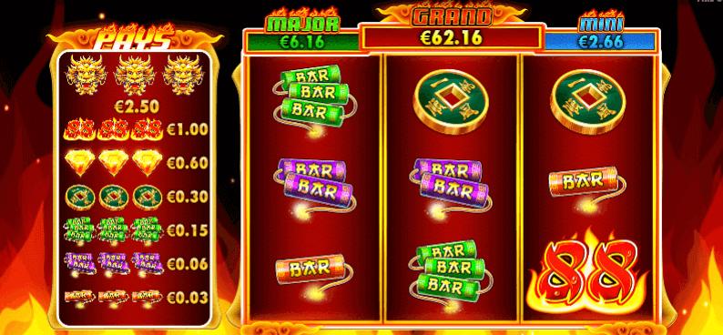 fire 88 slot main reels
