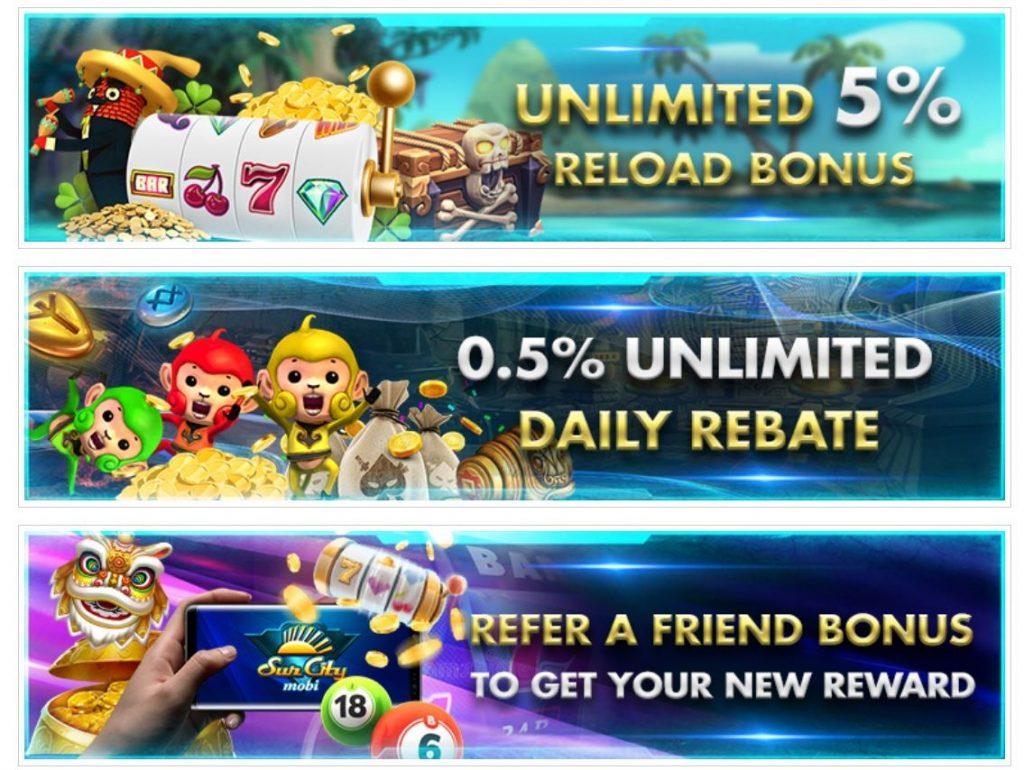 Bonus online casino di SunCityMobi